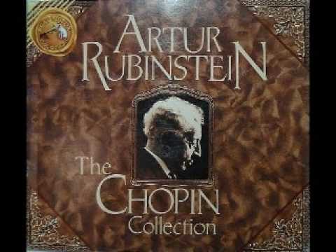 Arthur Rubinstein - Chopin Waltz Op. 70 No. 1 in G flat