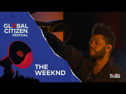 The Weeknd Performs Call Out My Name | Global Citizen Festival NYC 2018