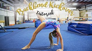 Gymnastics Back Bend Kickover Tutorial| Kaia SGG
