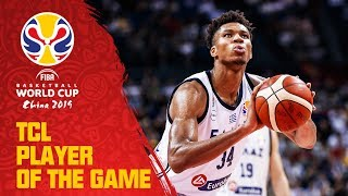 Giannis Antetokounmpo | GRE v NZL | TCL Player of the Game - FIBA Basketball World Cup 2019