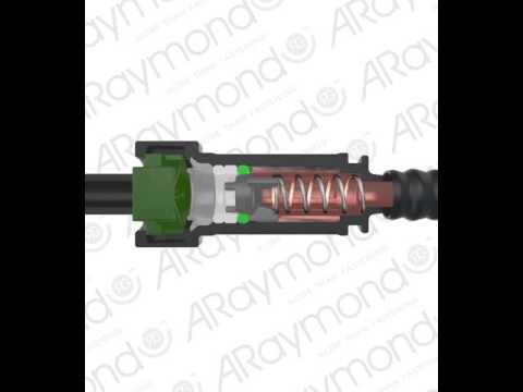 ARaymond shut off valve Quick Connector