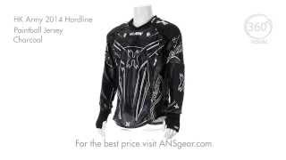 Джерси HK Army 2014 Hardline Paintball Jersey - Charcoal