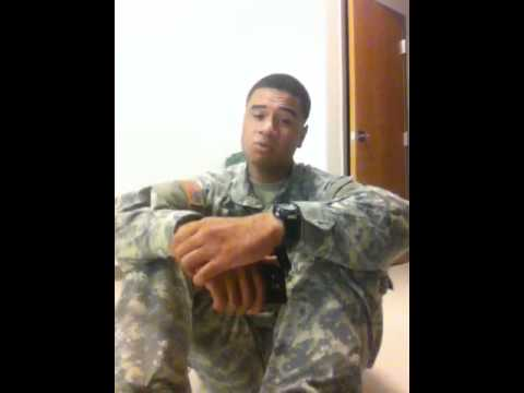 Soldier Does A Cover Of Something Unexpected
