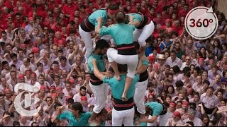 How to Build a Human Tower | The Daily 360 | The New York Times