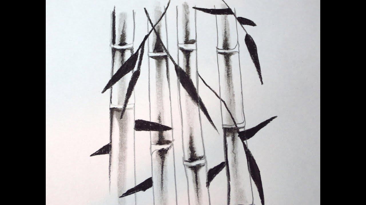 bamboo drawing - photo #21