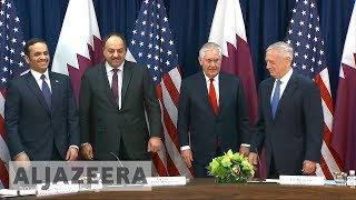 🇶🇦 🇺🇸 Rex Tillerson: US 'negatively impacted' by the Gulf crisis