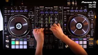 PIONEER DJ DDJ-RZ  Controller in action