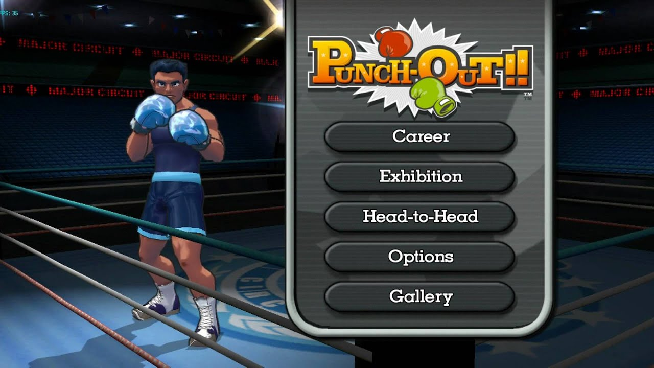 Punch Out!! On Dolphin Wii/GC Emulator (1080p HD) Full
