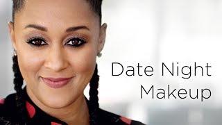 Tia Mowry's Glowy Date Night Makeup Look | Quick Fix