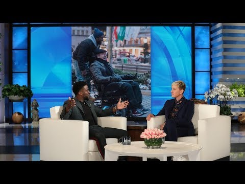 Kevin Hart Talks Blacking Out on New Year's Eve, and the Crazy Coincidence of 'The Upside'