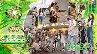 Việt Nam Tươi Đẹp - Tập 99 FULL | Hương Giang, Thanh Duy đưa Cindy Bishop đi trải nghiệm TP. HCM