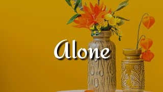 Qveen Herby - Alone (Lyrics)