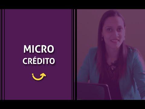 O que é o microcrédito?