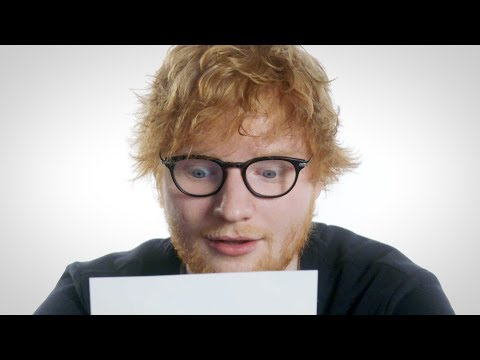 """Ed Sheeran Plays """"Love Song Lyric or Pizza Review?"""" // Omaze"""