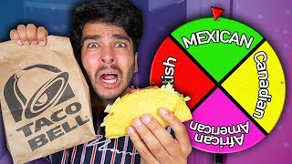Letting Stereotypes DECIDE What I Eat for 24 HOURS! (IMPOSSIBLE FOOD CHALLENGE)