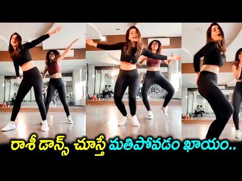 Raashi Khanna dance for 'Enjoy Enjaamo; goes viral