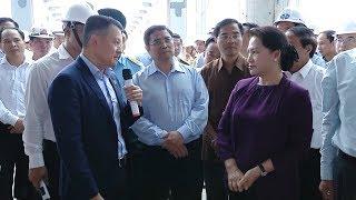 Chủ tịch Quốc hội Nguyễn Thị Kim Ngân thị sát một số dự án trọng điểm của tỉnh Quảng Ninh