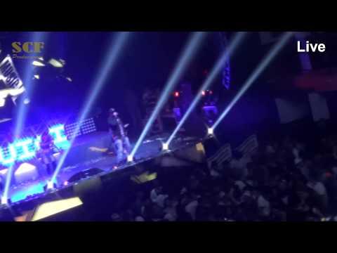 luigi 21 el boquisucio cantando en royal center Bogota en vivo 2015