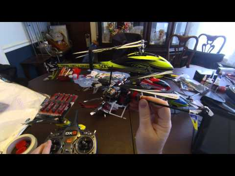 Align TRex 150 DFC RC Helicopter - Setting The Blade Pitch