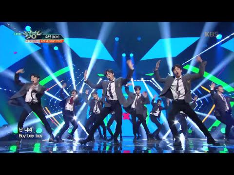 뮤직뱅크 Music Bank - 소년(BOY) - 더보이즈(THE BOYZ).20180112