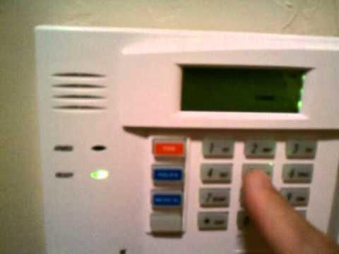 Change Master Code On Honeywell Alarm System Youtube