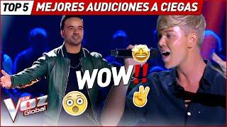 Las Audiciones a Ciegas MÁS IMPRESIONANTES de La Voz