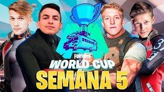 🔴 Clasificatorio FINAL SOLO Fortnite World Cup [EU,BR,NA] - Semana 5 !cofre !codigo - StarK