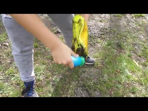 video How to clean those muddy boots with the boot buddy