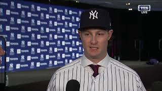 Gerrit Cole's first interview as a Yankee