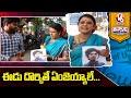 Teenmaar Chandravva On Singareni Colony Child Incident Accused | V6 Teenmaar News