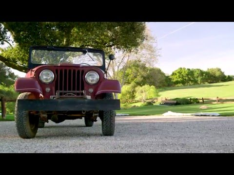 THIS JEEP MATTERS: President Reagan's 1962 Willys 'Jeep' CJ-6