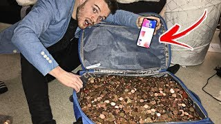 I Bought An Iphone X Using Only Pennies