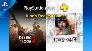 PlayStation Plus - Free PS4 Games Lineup June 2017 -