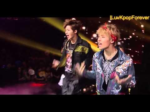 130616 Henry - Trap (feat.Taemin) @ Inkigayo [1080p]