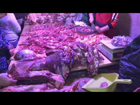 广西菜市场,眼镜蛇,野生竹鼠,果子狸,龙猪,箭猪,真敢吃!【唐哥美食】