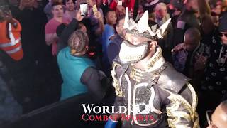 WBC KING Deontay Wilder EXCLUSIVE Ring WALK, Knock OUT, and post fight celebration