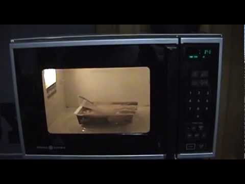 General Electric Microwave Oven Model J E66 002 Youtube