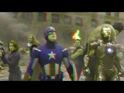 The Avengers (2012)(3D)(Side By Side) - Assemble [Clip 3]