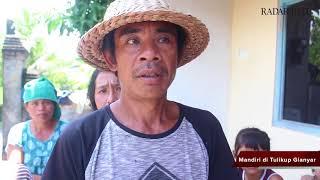 Penyaluran Sumbangan Pembaca Radar Bali untuk Pengungsi
