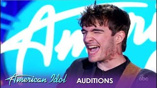 Jackson Gillies: The FINAL Audition Ends On an Inspirational High Note!   American Idol 2019
