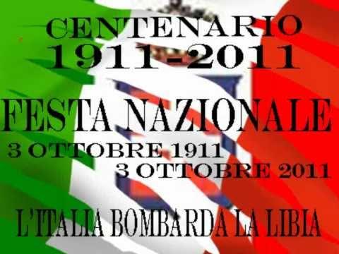 TELE RDR 99 - 1911-2011 FESTA NAZIONALE DEI 100 ANNI - L\'ITALIA BOMBARDA LA LIBIA