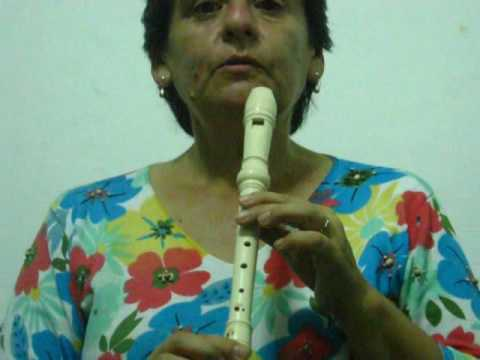 Flauta dulce: la lluvia