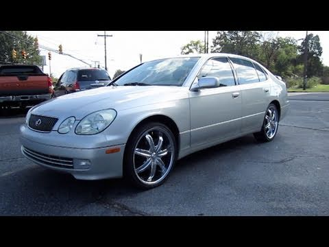 2001 Lexus GS300 Start Up, Engine, and In Depth Tour