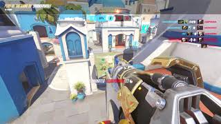 OVERWATCH: SHAMANWOLF PHARAH POTG PLAY OF THE GAME 02