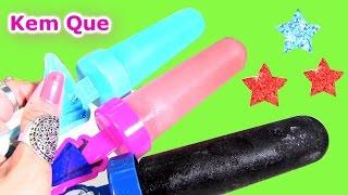 """Làm Kem Que """"Nữ Hoàng Băng Giá"""" Frozen Bằng Bột Kool Aid / Frozen Popsicle Maker With Cool Aid"""