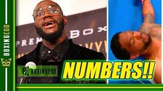 #S: DEONTAY WILDER VS. DOMINIC BREAZEALE KNOCKOUT NUMBERS IN (P: 990K, A: 886K)