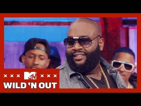 Rick Ross Has Mad Game w/ the Wild 'N Out Girls   #LetMeHolla