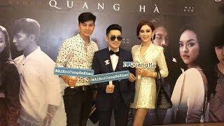 Vợ chồng Lâm Khánh Chi TÌNH CẢM đến chúc mừng Quang Hà ra mắt MV Ai Rồi Cũng Sẽ Khác