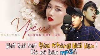 Những chàng trai HànQuốc cover bài hát Yêu Không Hối Hận của HariWon 완전 좋은 베트남 노래추천