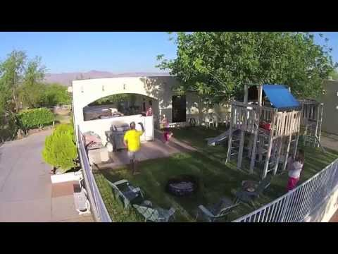 Easter Egg Hunt by Drone